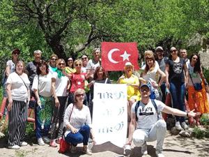 Ukraynalı turizmciler Kayseri ve Kapadokya'da