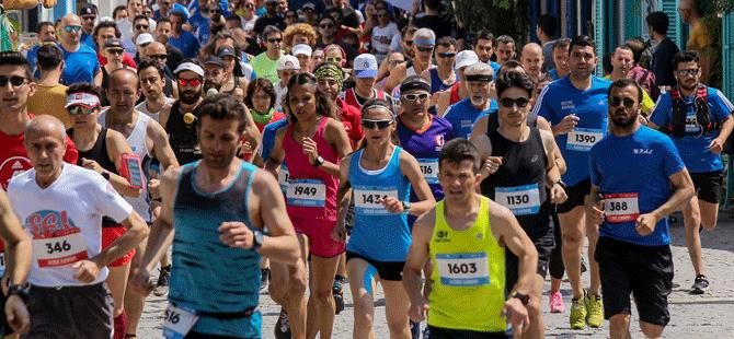 Adidas Bozcaada Yarı Maratonu, 1200 sporcunun katılımıyla gerçekleştirildi