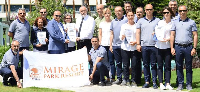 Mirage Park Resort Otel 'Glutensiz Mutfak Hizmet Uygunluk Belgesi' Aldı