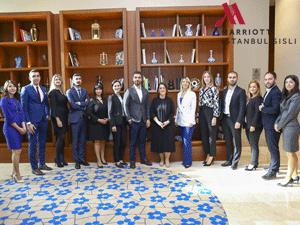 İstanbul Marriott Hotel Şişli Satış ve Pazarlama Ekibi Elite Global Ödülünün Sahibi Oldu