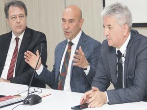 İzmir Büyükşehir Belediye Başkanı Tunç Soyer, Egeli turizmcilerle toplantıda açıkladı