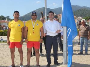 Ege bölgesinde mavi bayraklı plaj sayısı artıyor