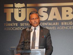 TÜRSAB Başkanı Firuz Bağlıkaya'nın Dünya Turizm Günü Mesajı