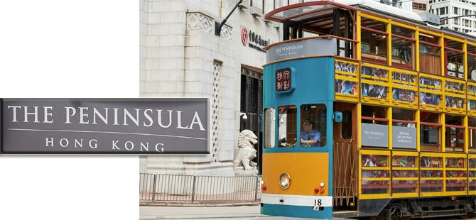The Peninsula Hotels Misafirleri Hong Kong'u Lüks Bir Tramvayda Keşfediyor!