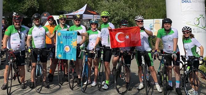 Umuda Pedal Ekibi, Milano'dan Münih'e pedal çevirerek Mardinli çocuklara fon oluşturdu