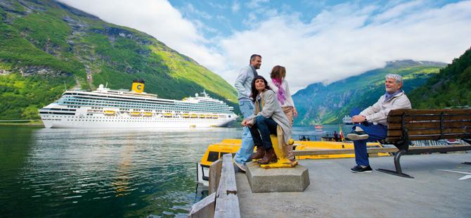 Cruise seyahatiyle her mevsim gidilecek yerler, gezilecek rotalar var