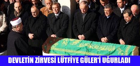 VALİ GÜLER'İN ACI GÜNÜ