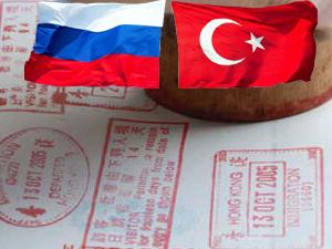 Rusya'ya hizmet ve hususi pasaport sahibi olan Türk vatandaşları vizesiz kapılarını açtı
