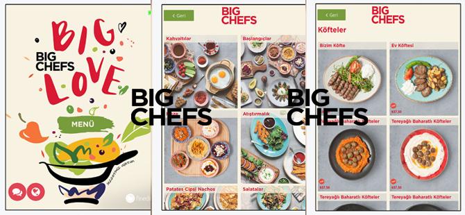 BigChefs, dijitalleşme adına büyük bir adım attı ve tablet menü üzerinden sipariş almaya başladı