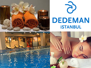 Dedeman İstanbul Otel'deki Le Ciel Spa'da iş temposu arası küçük molalar