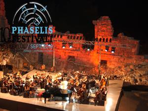 Phaselis Festivali, Phaselis'in 2 bin yıllık tarihi atmosferinde sanatseverlerle buluşacak