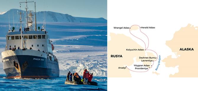 Bering Boğazı, FEST Travel'ın yeni güzergâhlarının son halkası oldu