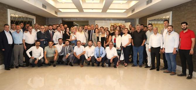Gastroantep için Gaziantep'e giden Firuz Bağlıkaya Seyahat Acentalarıyla buluştu
