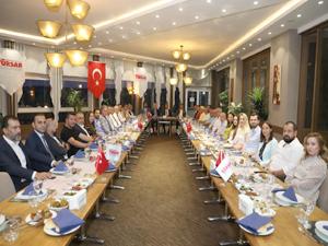 TÜRSAB Yönetim Kurulu Başkanı Firuz B. Bağlıkaya ve Yönetim Kurulu üyelerinin yurt içi ziyaretleri devam ediyor
