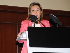 TÜROB Geleneksel Eylül ayı yemeğine, T.C. Kültür ve Turizm Bakan Yardımcısı Özgül Özkan Yavuz katıldı
