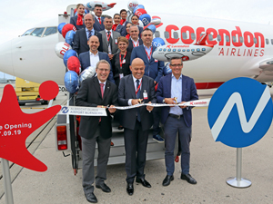 Corendon Airlines, Nürnberg meydanından haftalık 50'nin üzerinde uçuş planladı