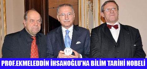 """""""KOYRE MADALYASI"""" İHSANOĞLU'NUN"""