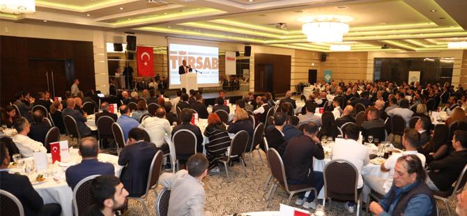 TÜRSAB Başkanı Firuz Bağlıkaya, Ankara'daki Seyahat Acentalarıyla bir araya geldi