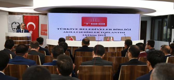 Akıllı Şehirler Kongresi,TBB hizmet binasında gerçekleştirildi