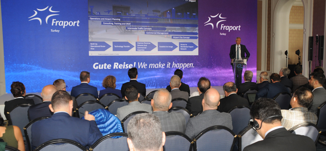 Dünyanın en büyük havalimanı işletmecilerinden Fraport, Türkiye pazarındaki 20'inci yılını kutladı