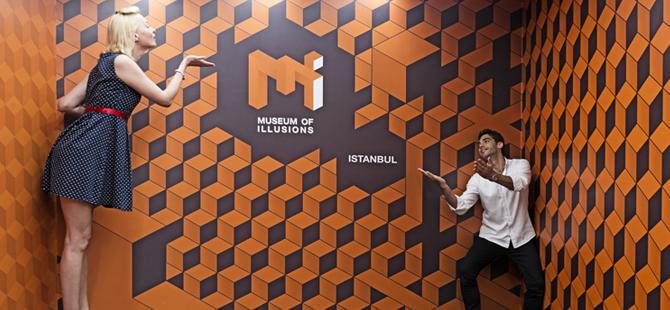İllüzyon Müzesi, Avrupa'nın en büyük metropolü İstanbul'a değer katmaya devam ediyor