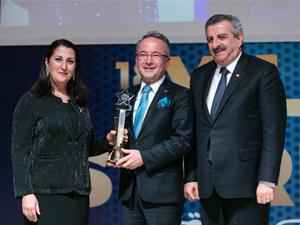 """18.Uluslararası Yılın Starları Ödülleri töreninde, Yılın """"Turquality Danışmanlık Ödülü"""" Progroup'un oldu"""