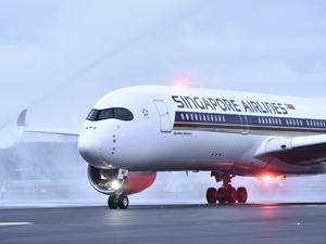 Singapur hava yolları istanbul uçuşlarında A350-900 ile hizmet vermeye başladı