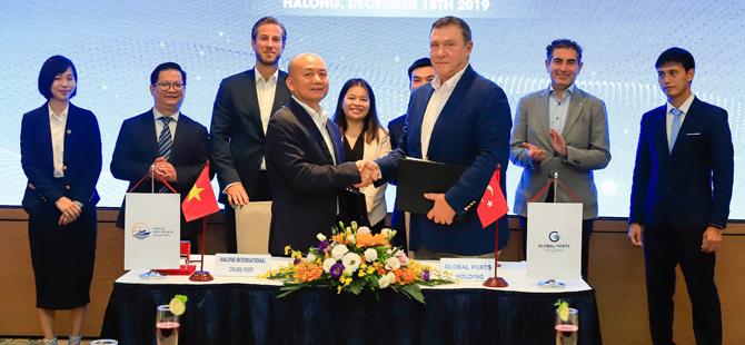 Global Vietnam'da Ha Long Uluslararası Kruvaziyer Limanı'nı portföyüne katıyor