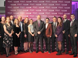 Qatar Airways, Türkiye'ye uçmaya başlamasının 15. yılını acenteleriyle kutladı