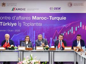 Ticaret Bakanı Ruhsar Pekcan, Faslı iş insanlarını Türkiye'ye yatırıma davet ediyoruz dedi