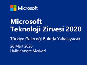 Microsoft Teknoloji Zirvesi bu yıl 26 Mart'ta İstanbul Haliç Kongre Merkezi'nde
