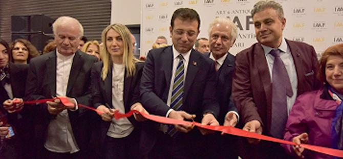 Türkiye'nin ilk ve tek Sanat ve Antika Fuarı, İstanbul Kongre Merkezi'nde başladı