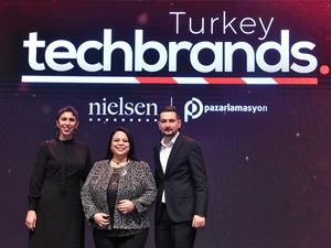 TechBrands Turkey'de Türkiye'nin en teknolojik markaları seçildi