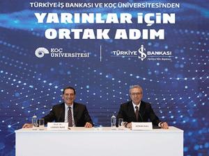 İş Bankası ve Koç Üniversitesi'nden Yapay Zekâ Uygulama ve Araştırma Merkezi