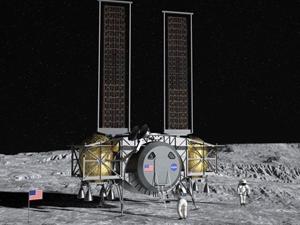 NASA'nın Ay'a İnsanlı İniş Projesinde Kritik Görev