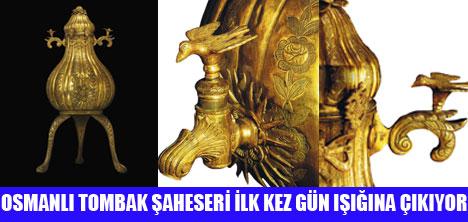 TOMBAK ŞAHESERİ SERGİLENECEK