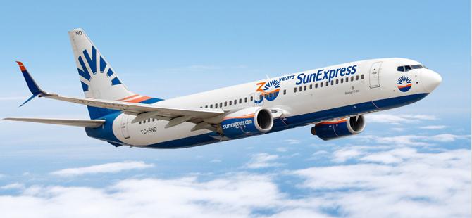 SunExpress, Antalya uçuşlarında %15'lik bir kapasite artışı