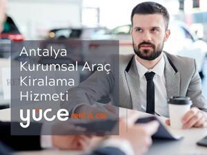 Antalya Kurumsal Araç Kiralama Hizmeti