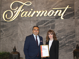 Fairmont Quasar İstanbul'da güvenli konaklama