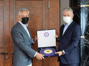 TÜRSAB Heyeti, İZTO Yönetimiyle görüştü