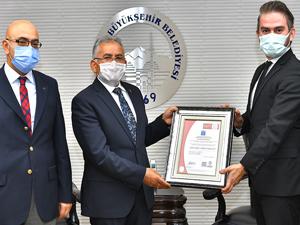 Erciyes, 'Güvenli Kayak Merkezi' belgesini aldı