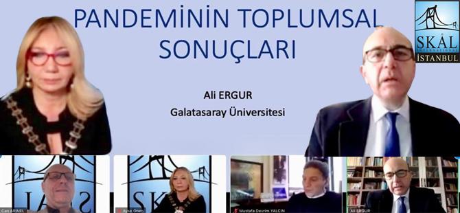 Skal İstanbul Pandeminin Toplumsal Sonuçlarını Değerlendirdi