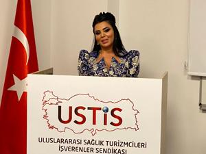 Sağlık turizmcilerine kadın başkan