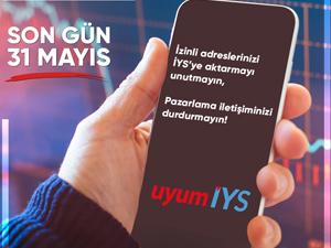 İleti Yönetim Sistemi (İYS)'ye kayıt için son gün 31 Mayıs 2021