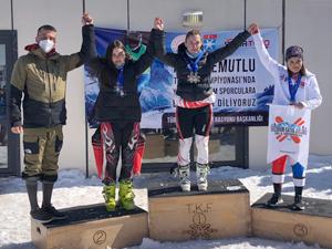 Kayak Şampiyonasında 4 Birincilik Elde Ettik!
