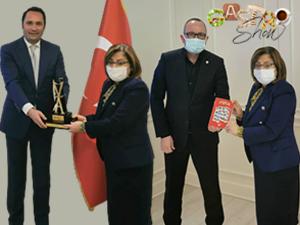 Gaziantep Belediye Başkanı Fatma Şahin'den Gastroshow'a Destek