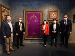 Üsküdar'da 'Kalbe Dokunan İlmek' Sergisinde Osmanlı Rüzgârı