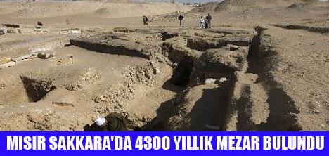 4300 YILLIK MEZAR BULUNDU