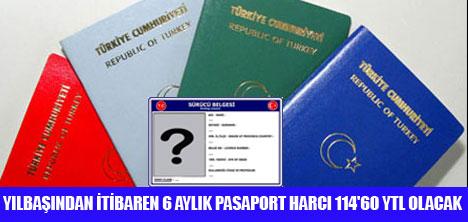 EHLİYET VE PASAPORT HARCI ARTTIRILDI
