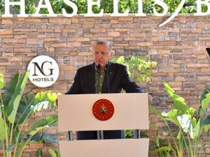 NG Phaselis Bay'ın resmi açılışı gerçekleşti